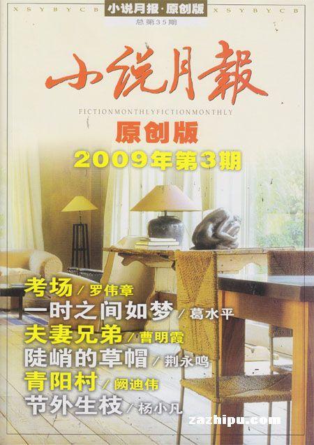 小说月报2009年5月