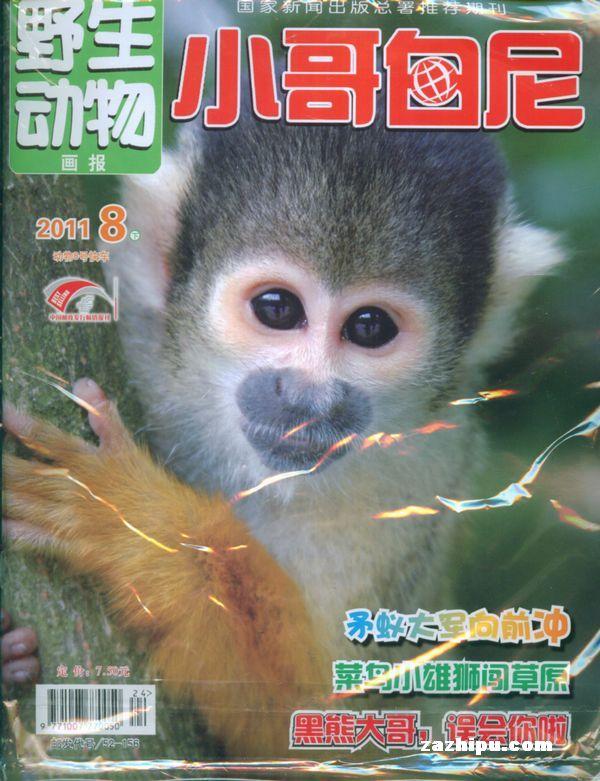 小哥白尼野生动物画报2011年8月期