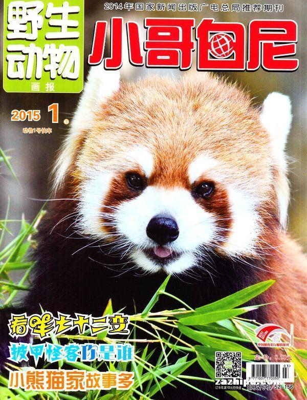 小哥白尼野生动物画报2015年1月期