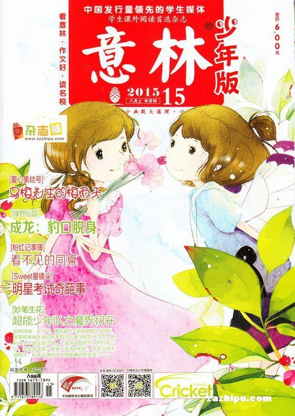 意林少年版杂志订阅,订购