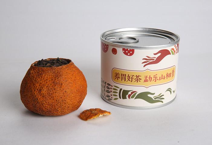 勐乐山柑普―逸品 单罐装(40g)【积分商城】
