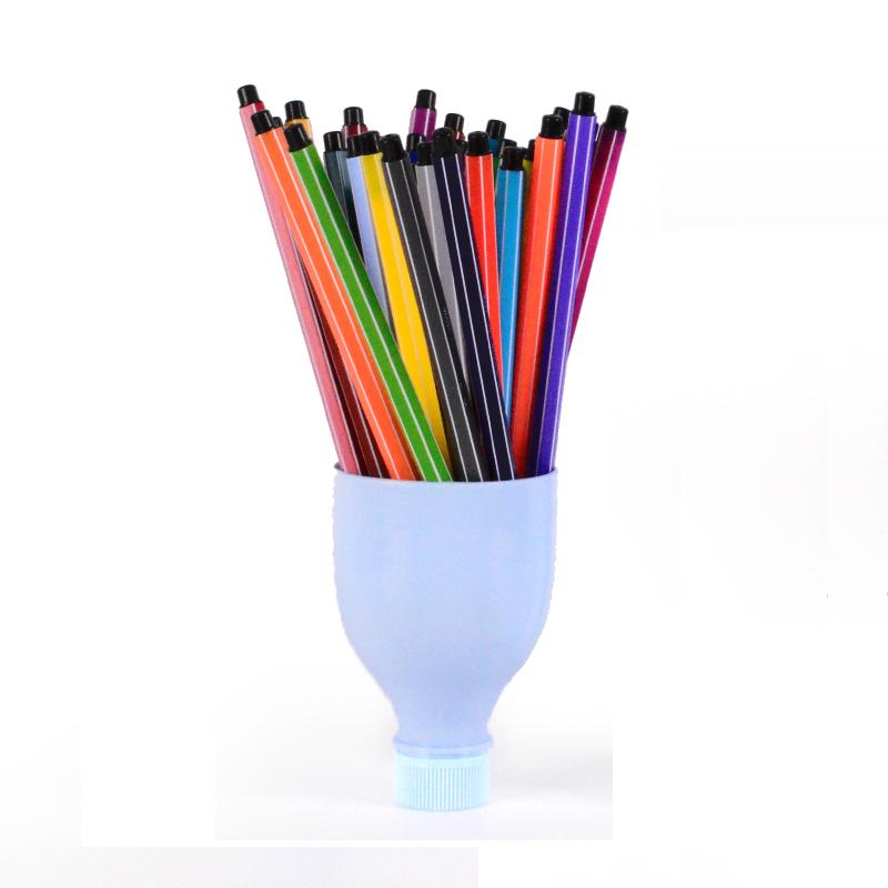 真彩24色漂流瓶水彩笔封面图片-杂志铺zazhipu.com-的