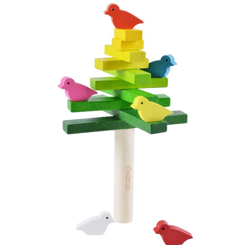 小鸟平衡木