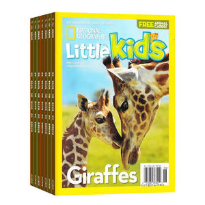 美国国家地理幼儿版3-6岁(英文原版)National Geographic  Little Kids(1年共6期)(杂志订阅)
