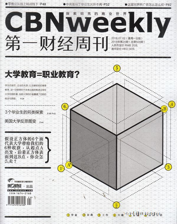 第一财经周刊2018年7月第1期