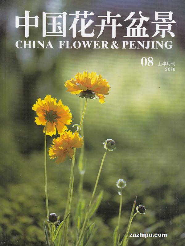 中国花卉盆景2018年8月期