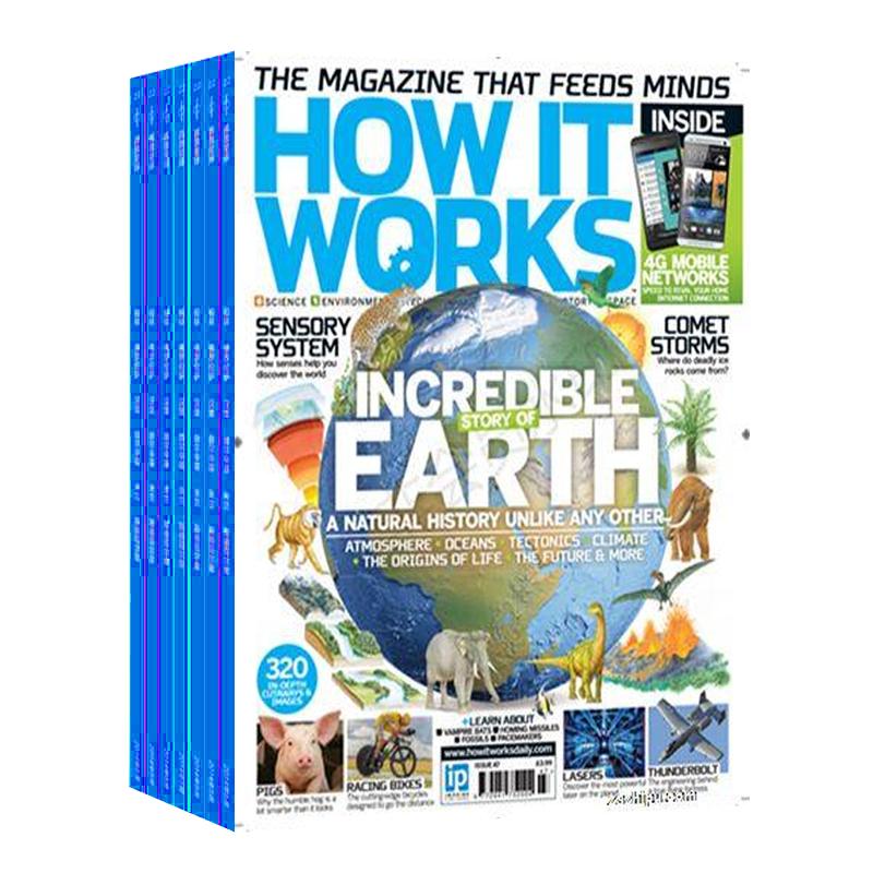 环球科学(青少版)(How it works中文版)(1年共12期) 杂志订阅