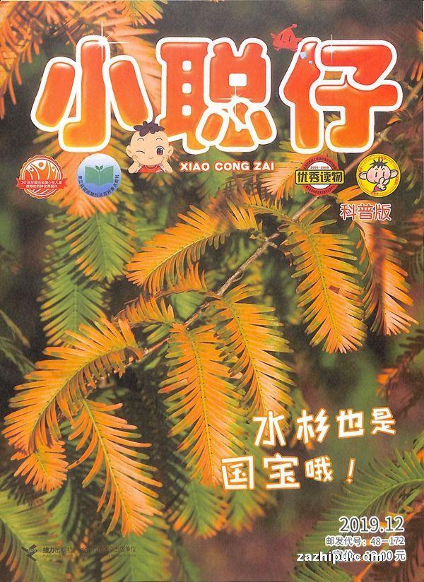 小聪仔自然科普版2019年12月期