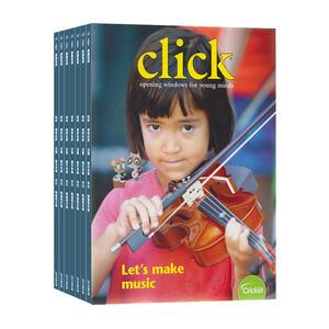 Click点击世界��一年共9期����英文原版��