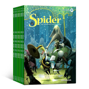 Spider红蜘蛛��一年共9期����英文原版��