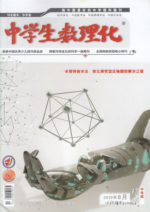 中学生数理化中考版2019年8月期