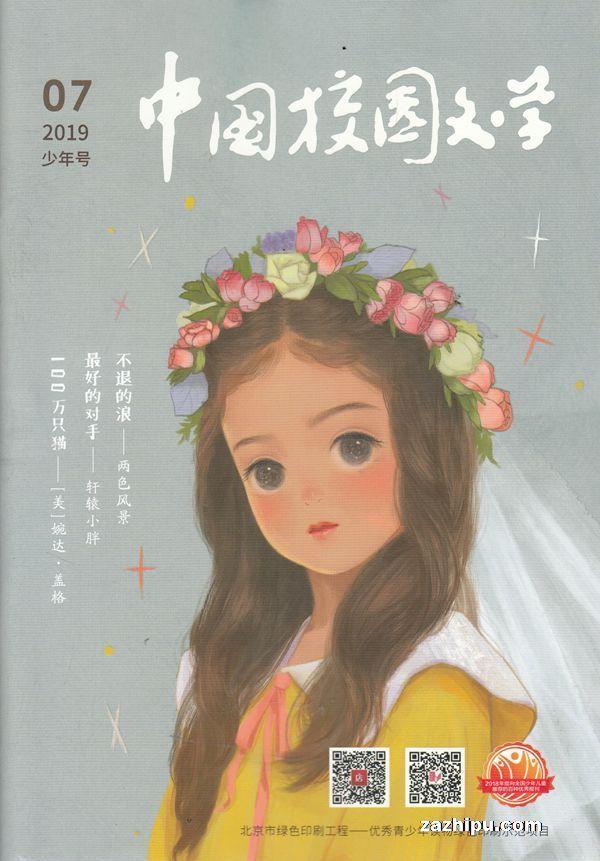 中国校园文学小学版2019年7月期