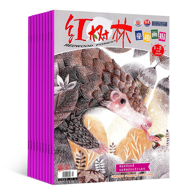 红树林童趣画报(适合幼儿园和小学一年级)(1年共12期)(杂志订阅)