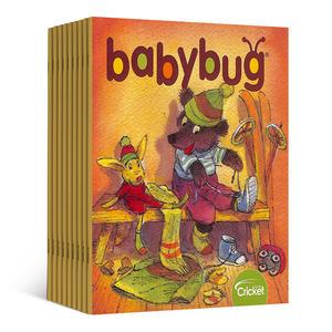 Babybug(虫宝宝)(一年共9期)(英文原版)
