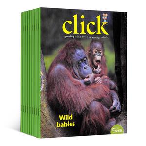 Click点击世界(一年共9期)(英文原版)