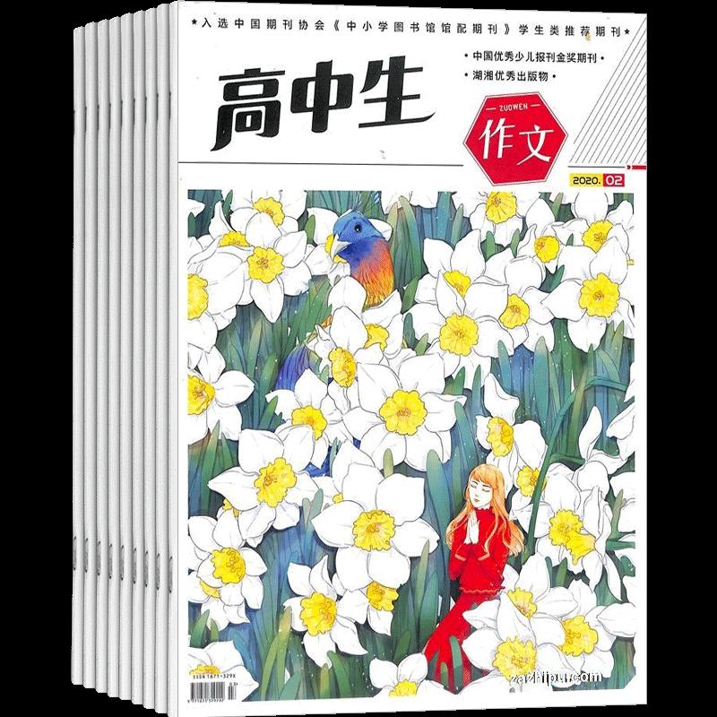 高中生作文(原高中生青春励志)(1年共12期)(杂志订阅)