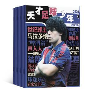 天才足球少年(1年共12期)(雜志訂閱)
