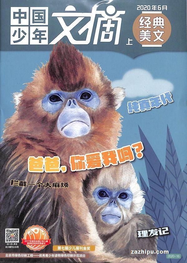 中国少年文摘(上)2020年6月期
