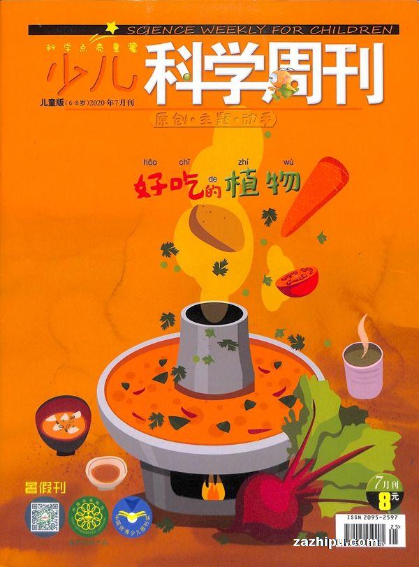 少儿科学周刊儿童版2020年7月期