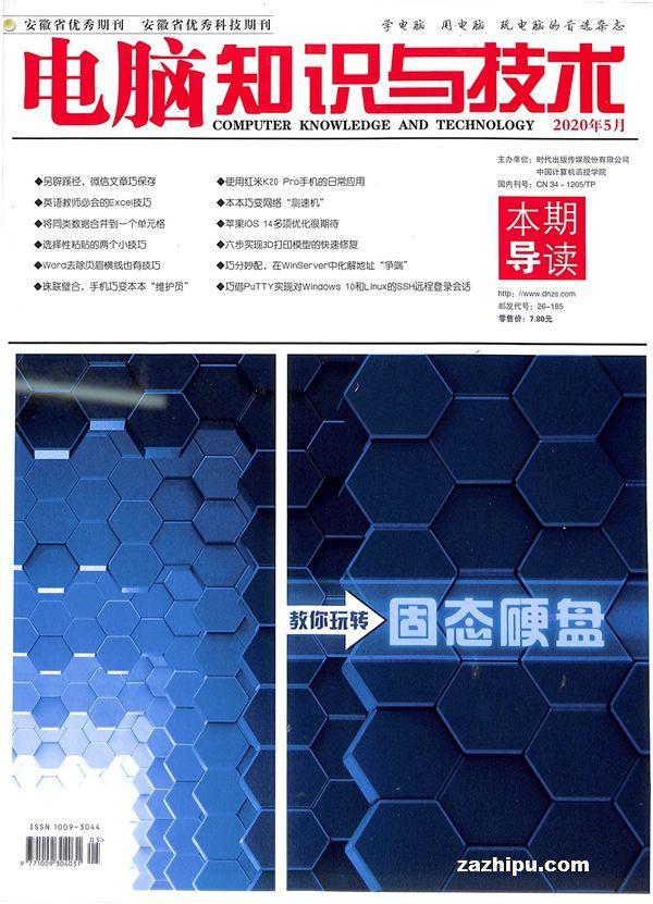 电脑知识与技术2020年5月期