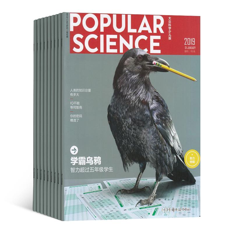 大众科学(1年共12期)(杂志订阅)