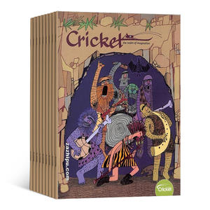 Cricket蟋蟀王国(一年共9期)(英文原版)