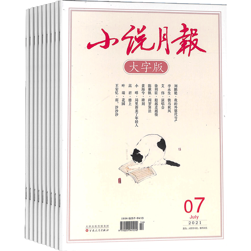 小说月报大字版(1年共12期)(杂志订阅)