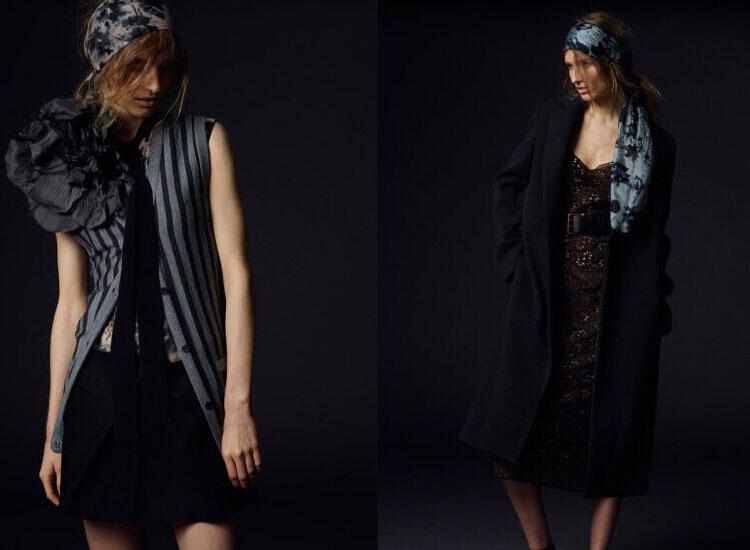 Vera Wang 2015早春度假系列时尚型录~本季品牌型录呈献更个性和不羁的风格,冷色调的色彩呈现不一样的Vera Wang~