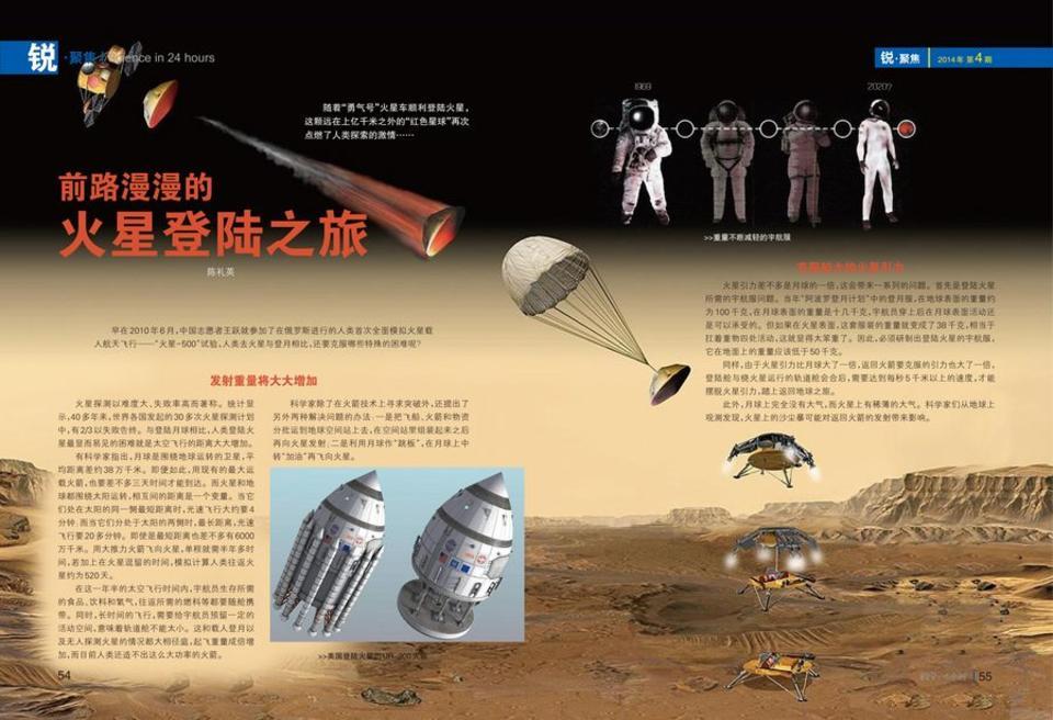 前路漫漫的火星登�之旅