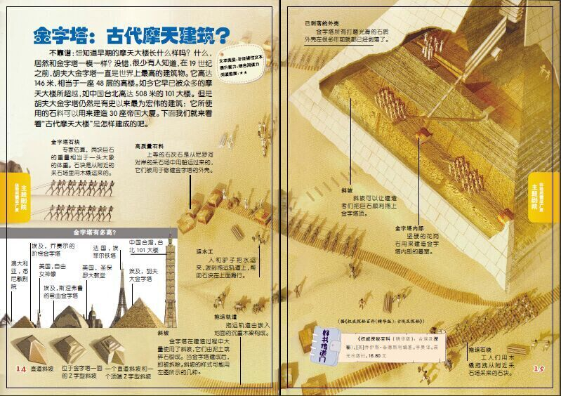 金字塔:古代摩天建筑?