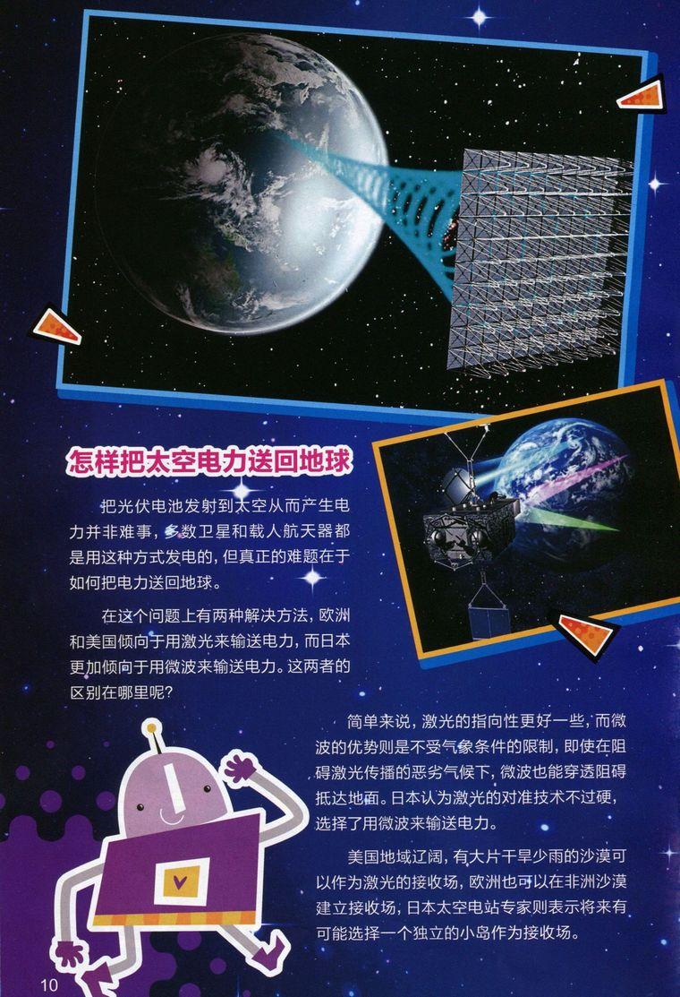 怎样把 太空电力送回地球