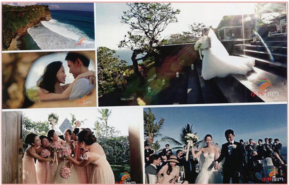 """""""慢帧""""是小林婚礼电影工作室运用电影艺术手法所创作的独有的拍摄风格。"""