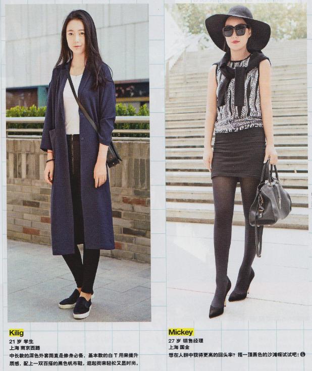 一件外套可以穿出多少种不同的style