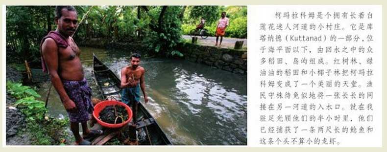 柯玛拉科姆是个拥有长着白莲花迷人河道的小村庄。
