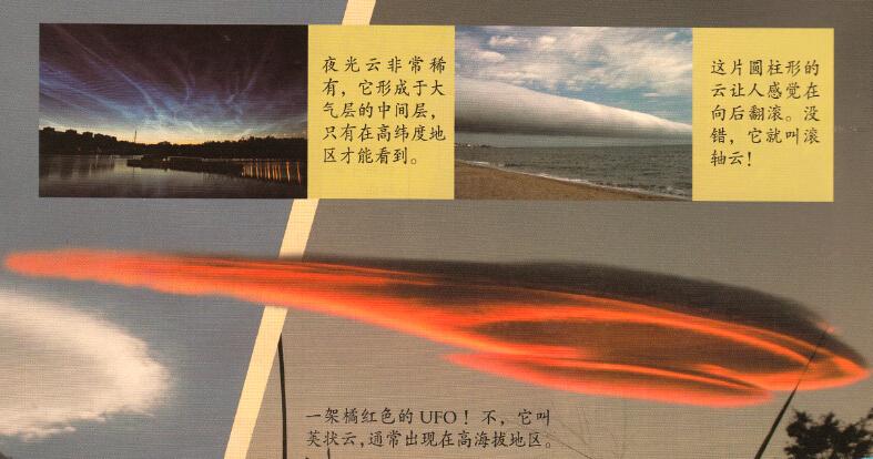 夜光云非常稀有,它形成于大气层的中间层,只有在高纬度地区才能看到。