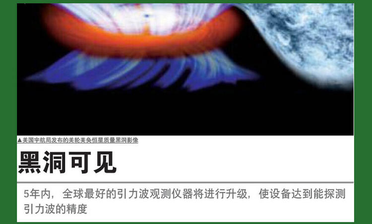 黑东方可见:五年内,全球最好的引力波观测仪器将进行升级,是设备达到能探测引力波的精度