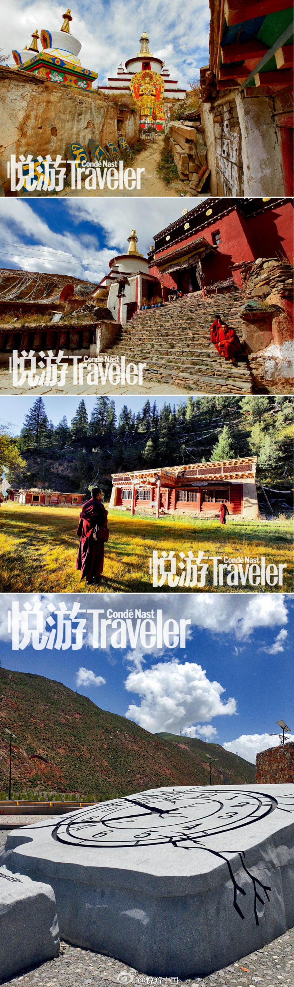 五年后,新玉树拔地而起。除了定格于2019-01-24的石钟和地震遗址博物馆,从外表上几乎看不到这座城市的伤痕。几座由建筑师设计的先锋建筑已经成为城市的新地标,散落在山间的寺庙和佛塔已接近完工,禅古寺迁址,结古寺依旧守望神山,世界上最大的嘛呢堆还在继续增长。
