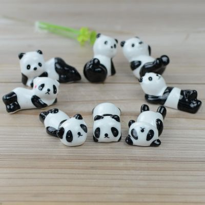陶瓷熊猫筷子架【积分商城】