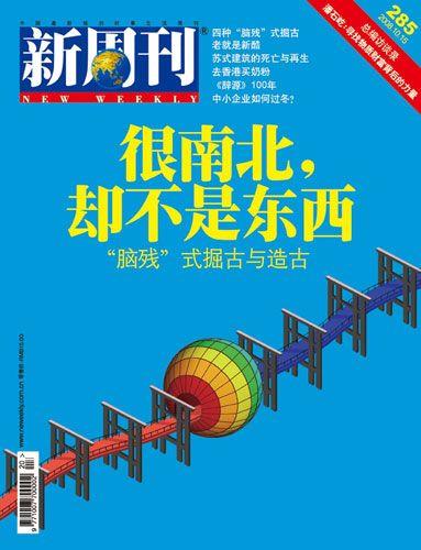 新周刊2008020期封面