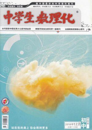 中学生数理化中考版2018年12月期