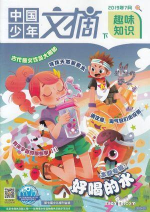 中国少年文摘(下)2019年7月期