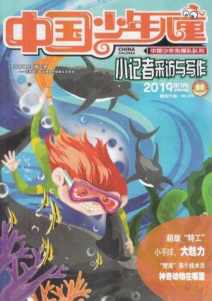 中国少年儿童小记者采访与写作2019年7月期