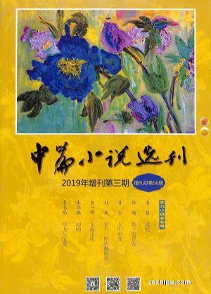 中篇小说选刊增刊2019年12月期