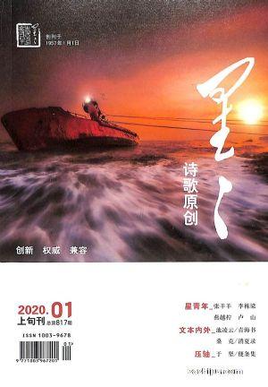 星星诗刊诗歌原创(上旬刊)2020年1月期