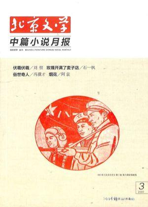 北京文学中篇小说月报2020年3月期