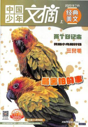 中国少年文摘( 经典美文版)2020年7月期