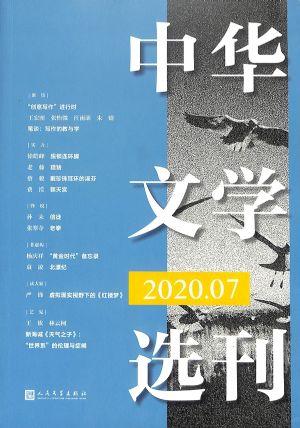 中华文学选刊2020年7月期