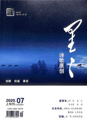 星星诗刊诗歌原创(上旬刊)2020年7月期