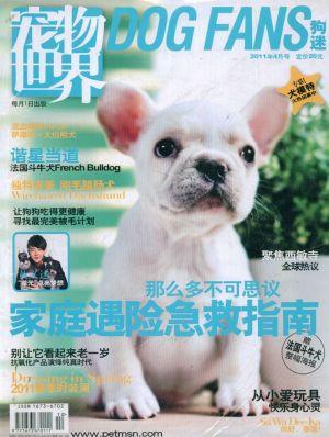 宠物世界(狗迷)2014年12月期封面图片-杂志铺zazhipu.