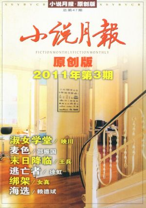 小说月报原创版2011年3期